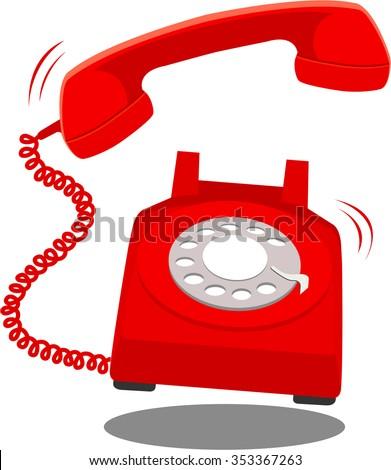 Phone Ringing Illustration