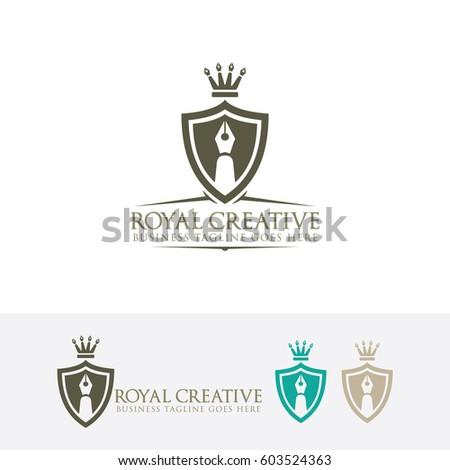 luxury vintage crests logocrest business sign stock vector 317635223 shutterstock. Black Bedroom Furniture Sets. Home Design Ideas
