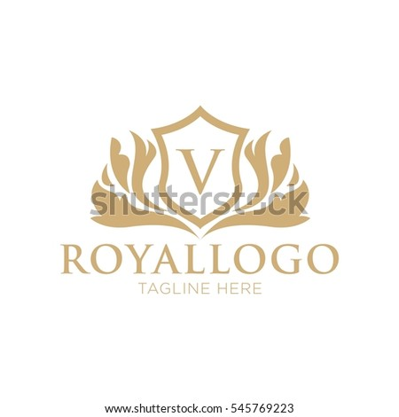 crests logo set luxury logo brand stock vector 402093451 shutterstock. Black Bedroom Furniture Sets. Home Design Ideas