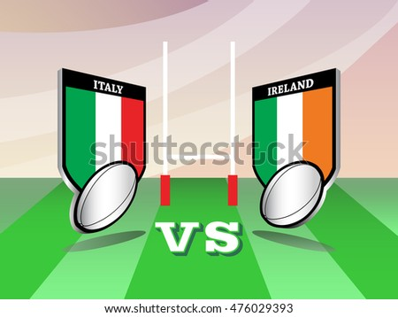 Image result for Italy vs Ireland live pic logo