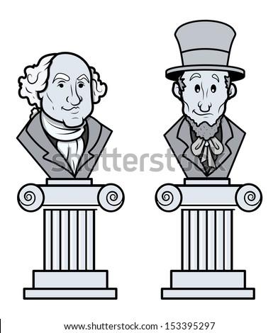 George Washington Vector Clipart Stock Vector 153395270 - Shutterstock