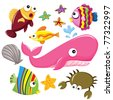 Sea Creatures - stock photo
