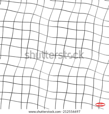 seamless abstract black white pattern on white background vector