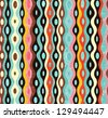 Seamless abstract multicolor pattern. Grunge effect can be removed. EPS 10 vector illustration. - stock photo