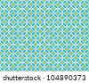 Seamless Arabesque Tile Background - stock vector