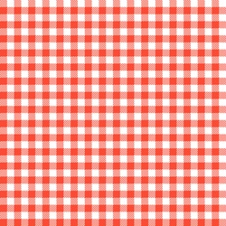 Seamless Checkered Seamless Pattern. Red And White Tablecloth Background.  Picnic Gingham Cloth Template.