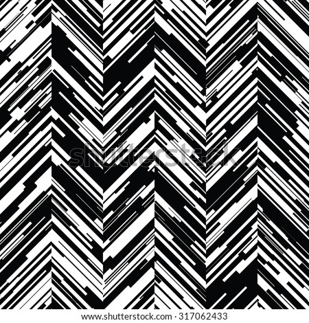 Seamless Distressed Chevron Background Pattern
