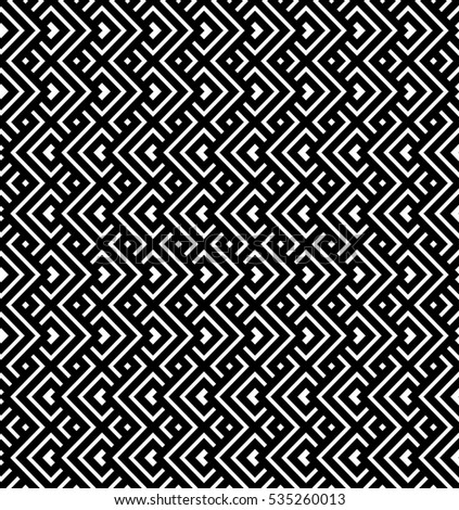Seamless geometric ornamental pattern for backgrounds and textures