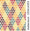 Seamless geometric pattern#3 - stock vector