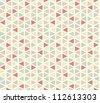 Seamless geometric pattern #2 - stock vector