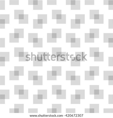 Seamless geometric pattern. Geometric simple print. Vector repeating squares.