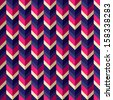 Seamless geometric pattern with zigzags. Can be used in textiles, for book design, website background. - stock