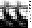 Seamless  geometric rhombus pattern black and white - stock photo