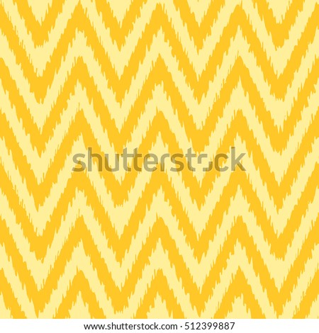 Seamless ikat chevron pattern