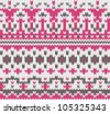 Seamless knitted background for winter clothes. EPS 8 vector illustration. - stock vector