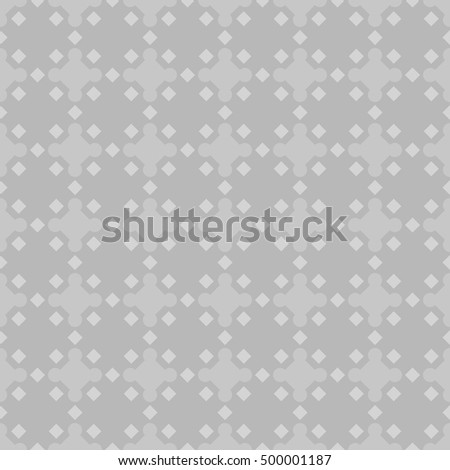 Seamless pattern design . Repeated different colors figures background. Symmetric abstract wallpaper. Grid motif. For digital paper, page fills, web desing, surface textures. Vector art illustration