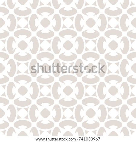 Seamless Pattern Floral Ornamental Background Repeat Stock Vector