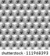 seamless pattern of blocks - stock photo