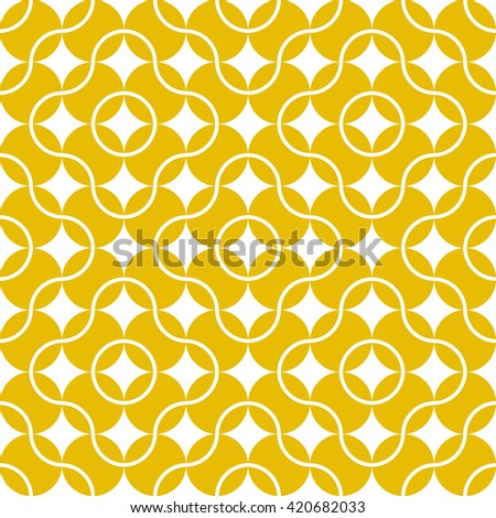 Seamless pattern of tennis balls for sports design. Vector image isolated on a white background.