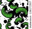 seamless pattern snake - stock