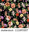 seamless pattern,tropical flowers,floral pattern,chic vectors,sweater print pattern - stock photo