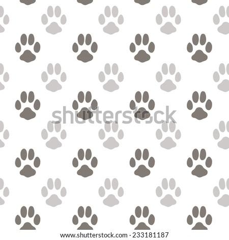 Animal foot prints patterns - photo#26