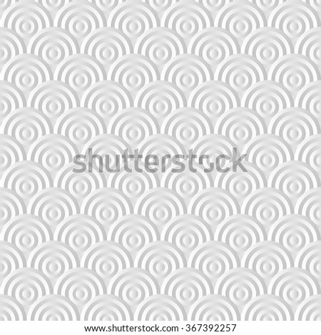seamless pattern with shape circles