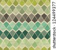 Seamless retro geometric pattern. - stock photo