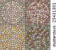 seamless stone patterns - stock photo