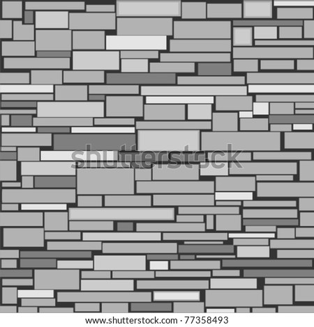 Decorative Stone Wall seamless structure decorative stone wall stock vector 77358493