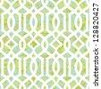 Seamless Summer Morning Trellis Background Pattern - stock vector