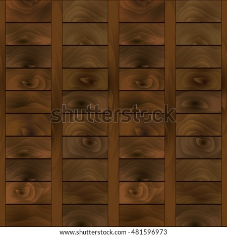 Seamless, vector, abstract, vintage, wooden barn pattern.