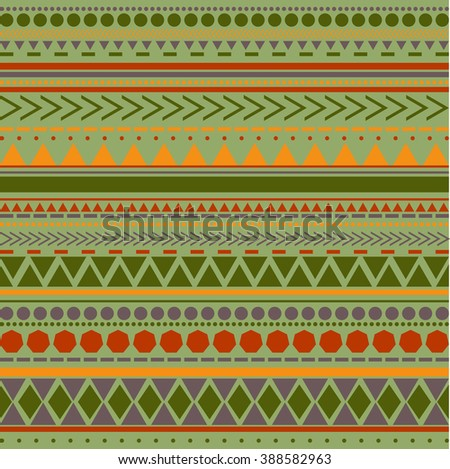 Seamless vector tribal texture pattern. Vector stripes pattern. Vintage ethnic seamless backdrop.