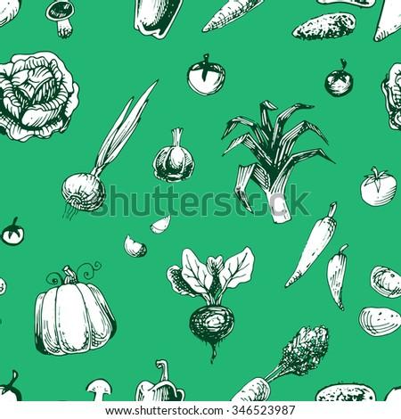 Kids Worksheet Fruits Vegetables Stock Vector 286512224 - Shutterstock