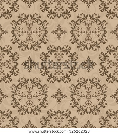seamless Victorian wallpaper. Seamless Victorian Wallpaper Stock Vector 329469206   Shutterstock