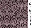 Seamless vintage background  Vector background for textile design.  Wallpaper, background, baroque pattern - stock vector