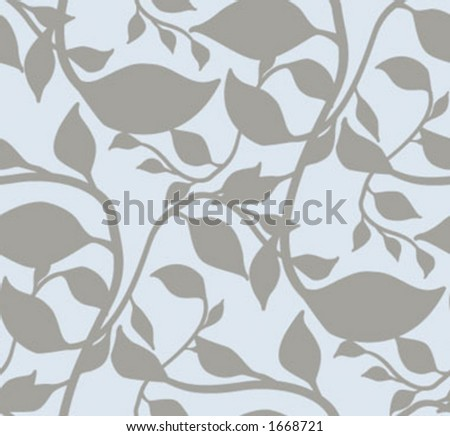 Seamless wallpaper pattern - vector