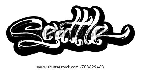 Swag Lettering Stock Vector 616596230 Shutterstock