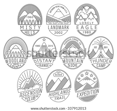 set alpinist mountain climbing outdoor activity stock vector 328947887 shutterstock. Black Bedroom Furniture Sets. Home Design Ideas