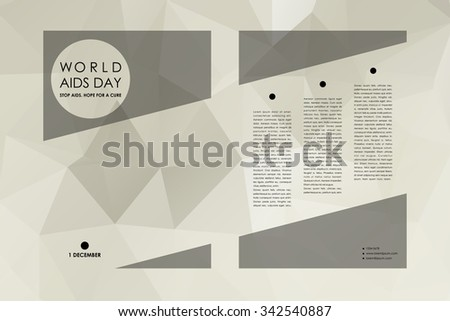Mountain landscape vector background tall peak stock for Hiv aids brochure templates