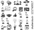 Set of business icons - stock