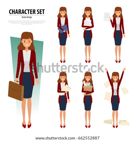 Nine months pregnancy cartoon funny drawings stock vector for Character designer job