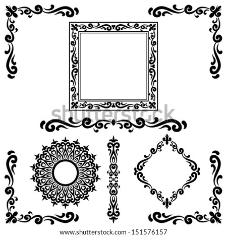 Simple Corner Border Design Celtic Border Designs Corner