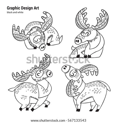 Adult Coloring Pagebook Cute Christmas Puppydog Stock Vector ...