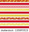 Set of Chinese decorative banners. - stock