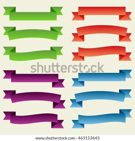 Vector banner stock vector 112526798 shutterstock - Text banner design ...