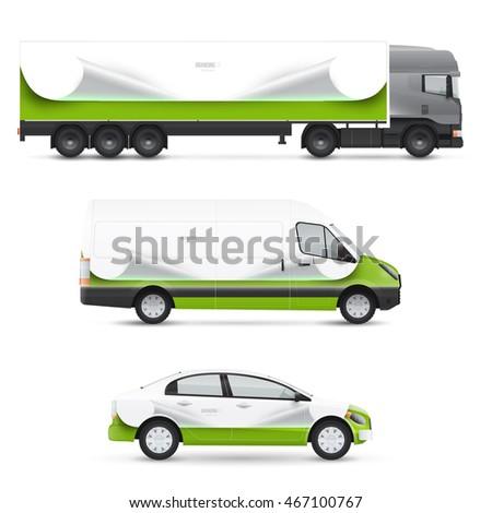 set design templates transport mockup passenger stock