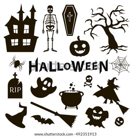 set halloween party stock vector 496346044 shutterstock Fish Skeleton Tattoos fish skeleton logo meaning