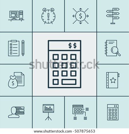 Set Of Project Management Icons On Analysis, Report And Personal Skills Topics. Editable Vector Illustration. Includes Schedule, Statistics, Plan And More Vector Icons.