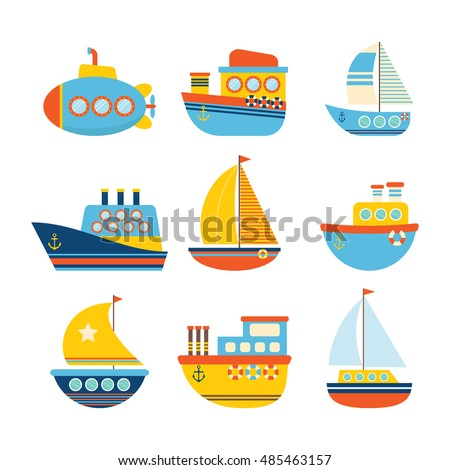 Set geometric shapes triangles lines your stock vector for Different types of water lines